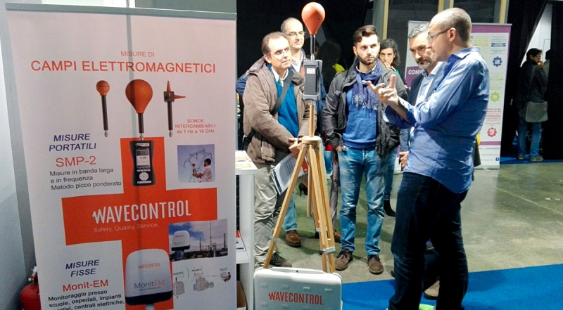 WAVECONTROL AT AMBIENTE LAVORO, BOLOGNA, ITALY