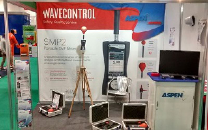 WAVECONTROL AND ASPEN ELECTRONICS AT THE SAFETY & HEALTH SHOW, UK