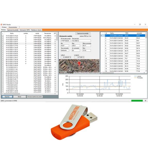 'SMP2 Reader' PC software