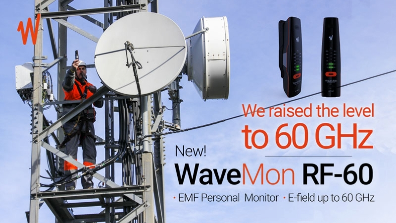 New WaveMon RF-60, ready for next-generation networks up to 60 GHz