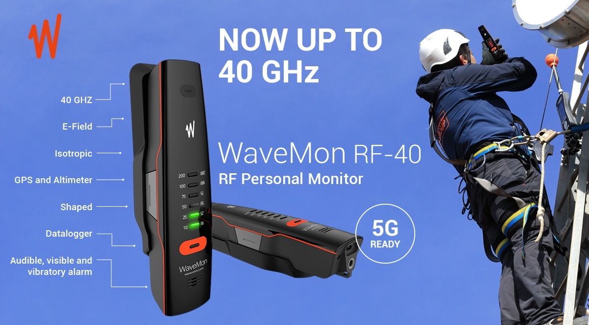 WaveMon RF-40 - 5G ready!