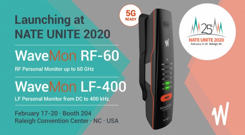 Wavecontrol to launch WaveMon RF-60 and WaveMon LF-400 at NATE UNITE 2020