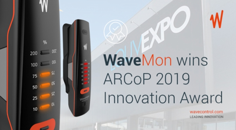 WaveMon wins ARCoP 2019 Innovation Award in Belgium