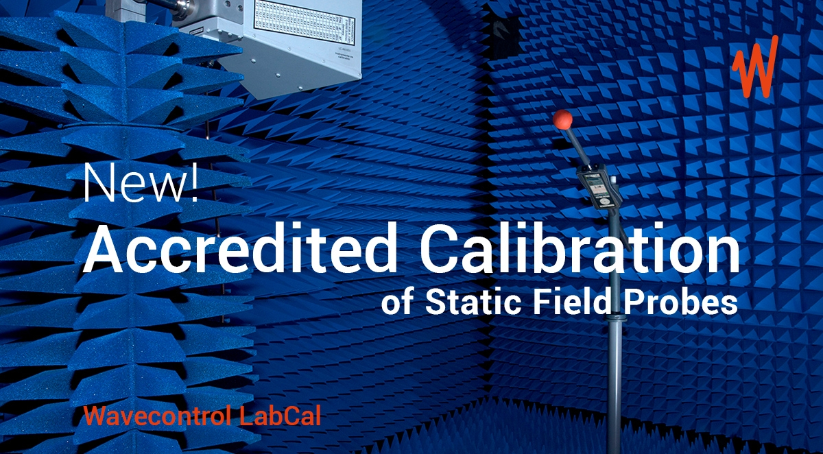 New! Accredited Calibration of Static Field Probes