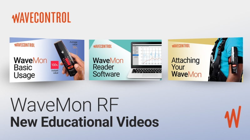 New educational videos about the WaveMon RF — Personal RF Monitor